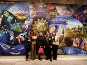 Visiting the National Science Foundation Mural