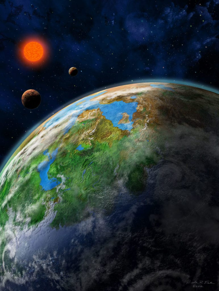 Earth-like Alien Planet