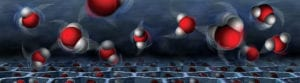 Compared the the normal dance of water molecules, inside supercooled silicon nanopores water molecules behave oddly.