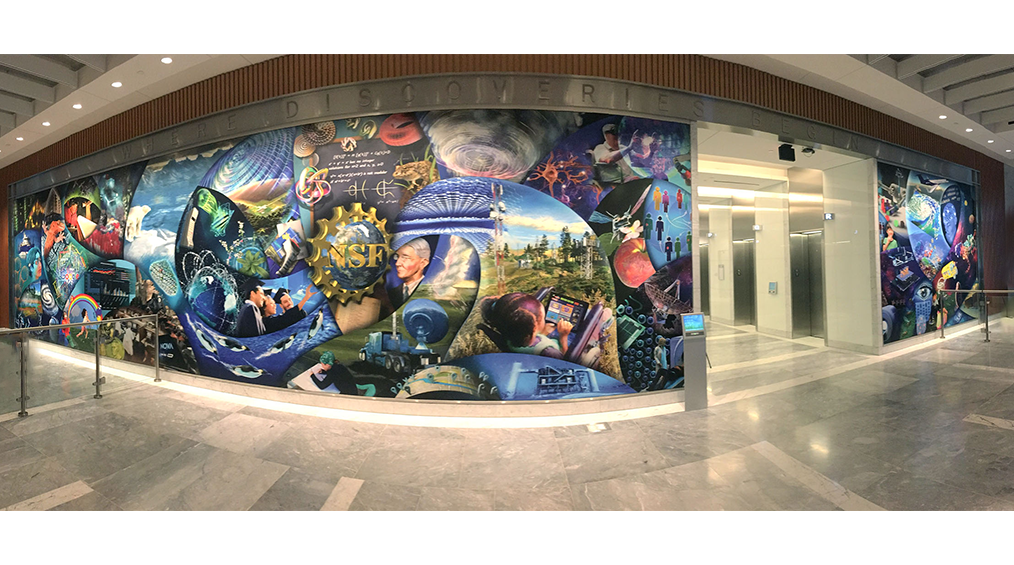 National Science Foundation Mural