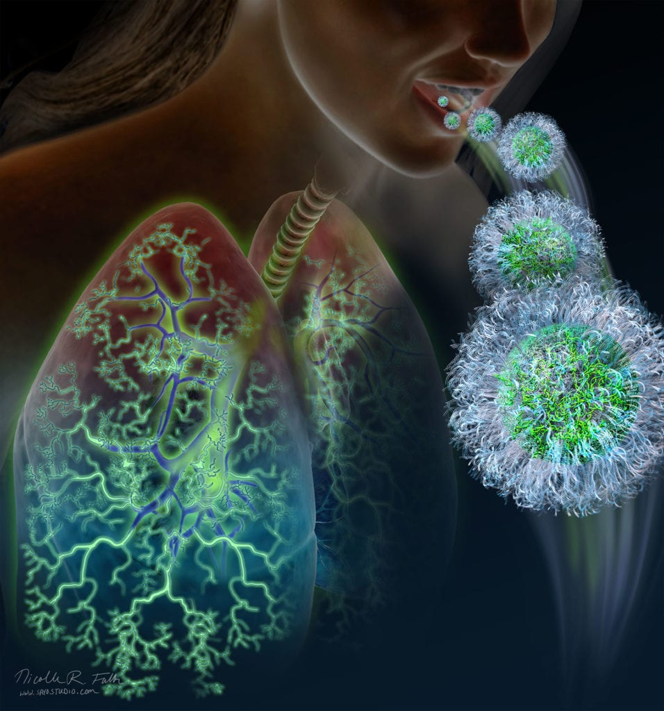 Nanoparticle Lung Therapy