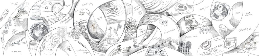 National Science Foundation Mural sketch