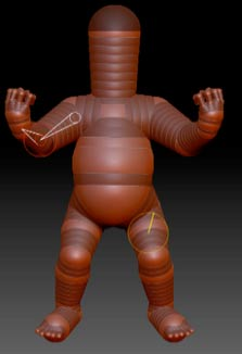How to Make a ZBrush Baby Body