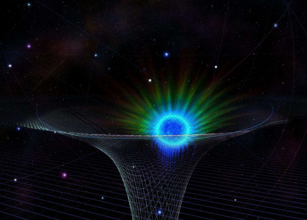Star Approaching Black Hole in Milky Way