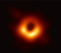 EHT Black Hole photo