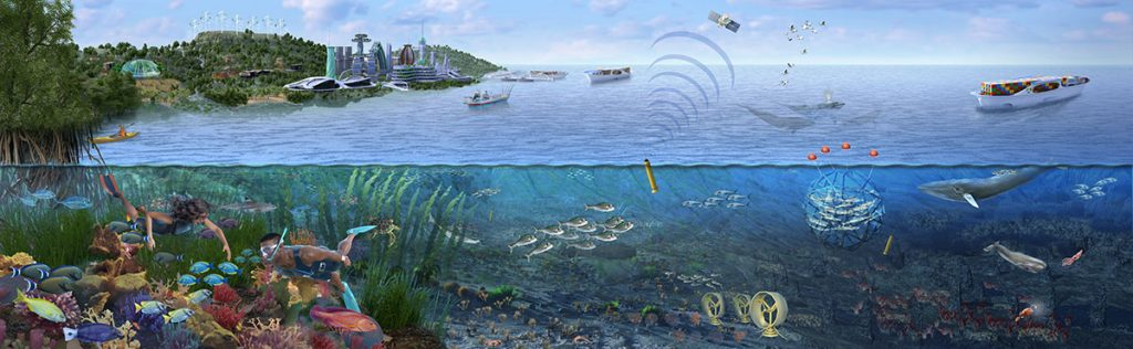 Healthy Ocean Ecology Future, Nicolle R. Fuller SayoStudio